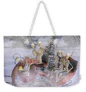 Christmas Spirits Heading To Topsail Island Nc Weekender Tote Bag