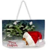 Christmas Squirrel  Greeting Card Weekender Tote Bag