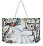 Christmas Surprise Weekender Tote Bag