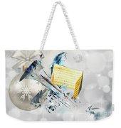 Christmas Time Music Weekender Tote Bag