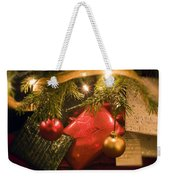Christmas Tree Decorations And Gifts Weekender Tote Bag