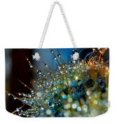 Christmas Tree Made Of Cactus And Water Drops Weekender Tote Bag