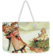 Christmas Tree Weekender Tote Bag