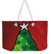 Christmas Tree Twinkle Weekender Tote Bag