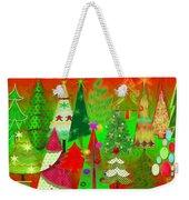 Christmas Trees Weekender Tote Bag