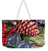 Christmas Wreath 2 Weekender Tote Bag