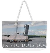 Christo Does Door County Weekender Tote Bag
