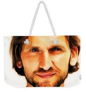 Christopher Eccleston Weekender Tote Bag
