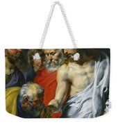 Christ's Charge To Peter  Weekender Tote Bag