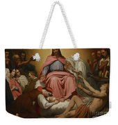 Christus Consolator Weekender Tote Bag by Ary Scheffer