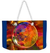Chromatic Floral Sphere Weekender Tote Bag