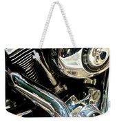 Chrome Beauty 1 Weekender Tote Bag