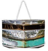 Chrome Chevrolet Weekender Tote Bag