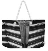 Chrome Grill 1948 Chevey Weekender Tote Bag