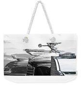 Chrome Hood Ornaments Vintage Cars Weekender Tote Bag