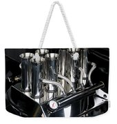 Chromed Fuel Injection Weekender Tote Bag