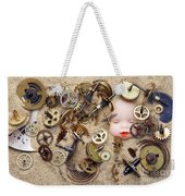 Chronos - God Of Time Weekender Tote Bag