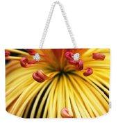 Chrysanthemum Morning Weekender Tote Bag