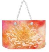 Chrysanthemum Obscured Weekender Tote Bag