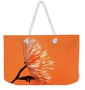 Chrysanthemum Orange Weekender Tote Bag