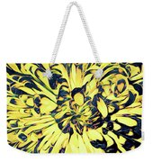 Chrysanthemum Pop Weekender Tote Bag