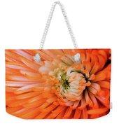 Chrysanthemum Serenity Weekender Tote Bag