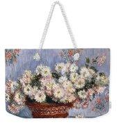 Chrysanthemums, 1878  Weekender Tote Bag