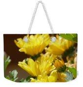 Chrysanthemums Weekender Tote Bag
