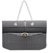 Chrysler 300 Logo And Grill Weekender Tote Bag
