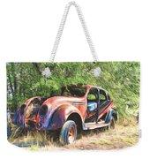 Chrysler Airflow Painterly Expression Weekender Tote Bag
