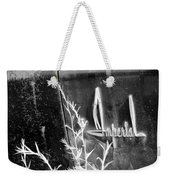 Chrysler Imperial Emblem - Bw Weekender Tote Bag