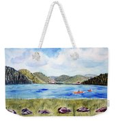 Chrystal Lake  Barton Vt  Weekender Tote Bag