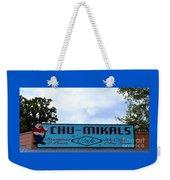 Chu - Mikals - Friendly Austin Texas Charm Weekender Tote Bag