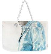 Chubby Chandler Watercolor Weekender Tote Bag