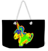 Chubby Silly Unicorn1 Weekender Tote Bag