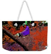 Chuck Chainsaw 2 Weekender Tote Bag