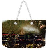 Chugging Across The Devil's Gate Weekender Tote Bag