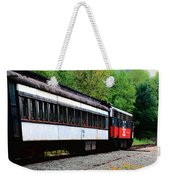 Chugging Along Weekender Tote Bag