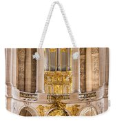 Church Altar Inside Palace Of Versailles Weekender Tote Bag