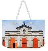 Church And Bicycle Weekender Tote Bag