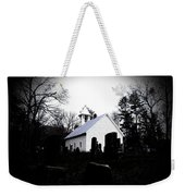 Church And Cemetary- Lens Weekender Tote Bag