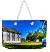 Church And Graveyard Weekender Tote Bag