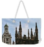 Church Architecture II  Nyc  Weekender Tote Bag
