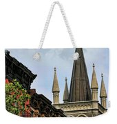 Church Architecture Older Nyc  Weekender Tote Bag