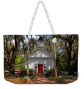 Church At Micanopy Weekender Tote Bag
