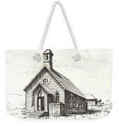Church Bodie Ghost Town California Weekender Tote Bag