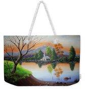 Church By The Lake Weekender Tote Bag