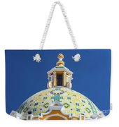 Church Dome And Blue Sky Weekender Tote Bag