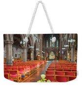 Church Flowers Weekender Tote Bag