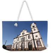 Church In Azores Islands Weekender Tote Bag